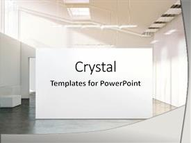 Exhibition powerpoint templates ppt themes with exhibition slide set featuring exhibition gallery with contemporary art background and a white colored foreground toneelgroepblik Images