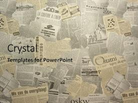 newspaper background for powerpoint