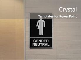 5000 gender powerpoint templates w gender themed backgrounds amazing slide set having gender neutral restroom sign that backdrop and a gray colored foreground toneelgroepblik Image collections