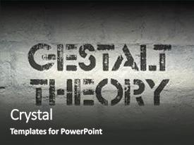 Gestalt psychology powerpoint templates w gestalt psychology themed ppt theme featuring gestalt theory phrase stencil print background and a dark gray colored foreground toneelgroepblik Choice Image