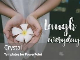 5000 quote powerpoint templates w quote themed backgrounds colorful theme enhanced with inspirational girl holding white flower backdrop and a gray colored foreground toneelgroepblik Choice Image