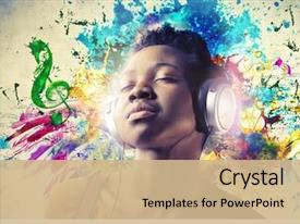 African Music Powerpoint Templates W African Music Themed