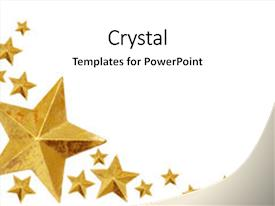 top gold star powerpoint templates backgrounds slides and ppt themes