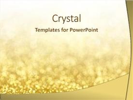 Gold Design Powerpoint Templates W Gold Design Themed