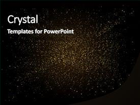 Cool new presentation with gold sparkles backdrop golden explosion backdrop and a black colored foreground.