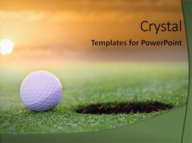 5000 golf powerpoint templates w golf themed backgrounds amazing ppt layouts having golf course putting green backdrop and a gold colored foreground toneelgroepblik Images