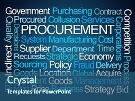 Top procurement powerpoint templates backgrounds slides and ppt colorful presentation theme enhanced with good corporate governance procurement word cloud on blue backdrop and toneelgroepblik Image collections