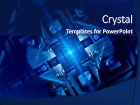 5000 quantum powerpoint templates w quantum themed backgrounds ppt theme consisting of gpu blue glowing futuristic quantum computer background and a navy blue toneelgroepblik Gallery