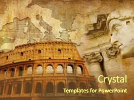 top roman empire map powerpoint templates backgrounds slides and