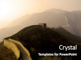 top china the wall powerpoint templates backgrounds slides and ppt