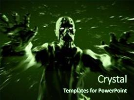 5000 zombie powerpoint templates w zombie themed backgrounds audience pleasing presentation consisting of ghost characters grim attack toneelgroepblik Image collections