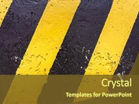 5000 Black Yellow Powerpoint Templates W Black Yellow Themed