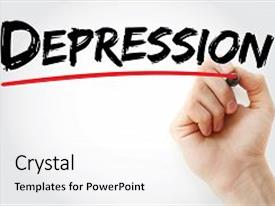 top depression powerpoint templates backgrounds slides and ppt themes