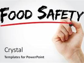 5000 food safety powerpoint templates w food safety themed backgrounds beautiful theme featuring haccp hand writing food safety backdrop and a white colored foreground toneelgroepblik Images