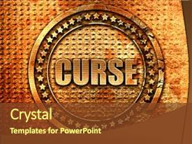 Top Curse Powerpoint Templates Backgrounds Slides And Ppt