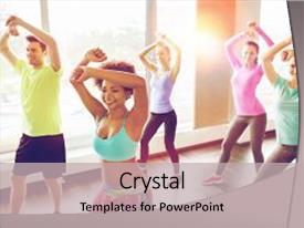 Zumba powerpoint templates ppt themes with zumba backgrounds amazing ppt layouts having health fitness sport dance backdrop and a mint green colored foreground toneelgroepblik Choice Image