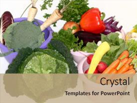 Amazing theme having healthy food is base backdrop and a  colored foreground.
