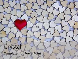 PPT layouts consisting of heart shape from natural tree lovely heart shape by wooden small hearts on rustic wood table love theme concept with wooden hearts for valentine s background and love theme wooden leters i love you background and a light gray colored foreground.