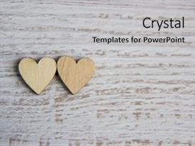 Colorful slide deck enhanced with heart shape from natural tree lovely heart shape by wooden small hearts on rustic wood table love theme concept with wooden hearts for valentine s background and love theme wooden leters i love you backdrop and a light gray colored foreground.