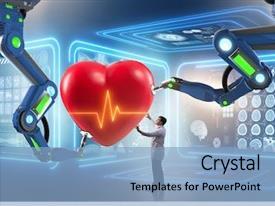 300+ Healthcare Robot PowerPoint Templates w/ Healthcare