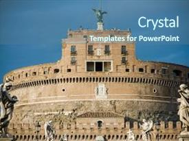 5000 roman architecture powerpoint templates w roman architecture ppt layouts enhanced with history rome architecture ancient roman background and a ocean colored foreground toneelgroepblik Gallery