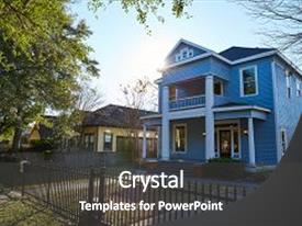 4000 victorian age powerpoint templates w victorian age themed audience pleasing theme consisting of houston heights victorian style houses backdrop and a dark gray colored toneelgroepblik Gallery