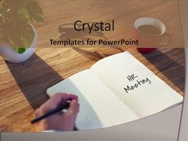 PPT Layouts Consisting Of Hr Help Desk   Hr Meeting Act Now Concept  Background And A