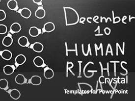 5000 human rights powerpoint templates w human rights themed beautiful presentation featuring human rights concept handcuffs and the text human rights day written with chalk toneelgroepblik Gallery