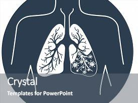 5000 lung powerpoint templates w lung themed backgrounds beautiful theme featuring icon of lung disease pneumonia in the form of lung anatomy and viruses toneelgroepblik Image collections