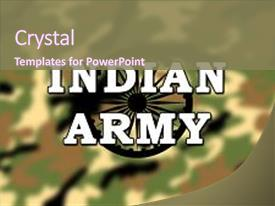400 indian army powerpoint templates w indian army themed backgrounds presentation theme featuring indian army military camouflage pattern background and a violet colored foreground toneelgroepblik Gallery
