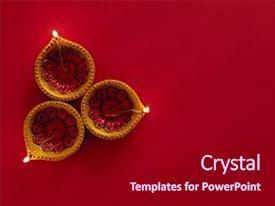 Diwali powerpoint template.