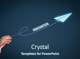 5000 innovation paper powerpoint templates w innovation paper ppt theme consisting of business accelerator innovation concept businessman throw background and a ocean colored toneelgroepblik Gallery