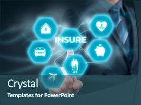 5000 insurance powerpoint templates w insurance themed backgrounds ppt theme with insurance financial insurance and health background and a ocean colored foreground toneelgroepblik Images