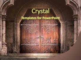 5000 medieval powerpoint templates w medieval themed backgrounds slide set enhanced with shadow iron doors stone castle church background and a tawny brown toneelgroepblik Choice Image