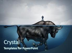Cool new slide deck with island as a bull underwater backdrop and a  colored foreground.