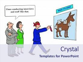 Presentation Theme With Pin Tail Donkey