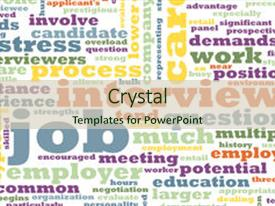 Job interview powerpoint templates crystalgraphics colorful ppt layouts enhanced with job interview preparation backdrop and a soft green colored foreground toneelgroepblik Image collections