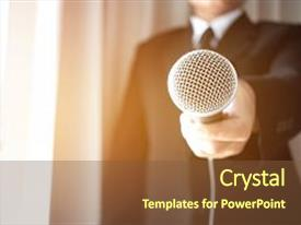 5000 journalist powerpoint templates w journalist themed backgrounds amazing theme having s filing microphone interviewing backdrop and a tawny brown colored toneelgroepblik Image collections