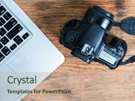 5000 journalist powerpoint templates w journalist themed backgrounds slide deck enhanced with s photographer camera photo background toneelgroepblik Image collections