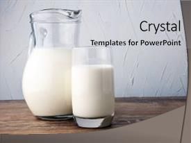5000 milk powerpoint templates w milk themed backgrounds cool new theme with jug of and glass backdrop and a light gray toneelgroepblik Image collections