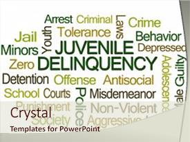 200 juvenile justice powerpoint templates w juvenile justice beautiful slides featuring juvenile delinquency word cloud backdrop and a lemonade colored foreground toneelgroepblik Gallery