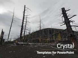 5000 burnt powerpoint templates w burnt themed backgrounds audience pleasing presentation theme consisting of kamchatka peninsula volcanic landscape trees larch on toneelgroepblik Image collections