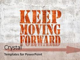 5000 moving forward powerpoint templates w moving forward themed theme consisting of keep moving forward red sign background and a coral colored foreground toneelgroepblik Choice Image