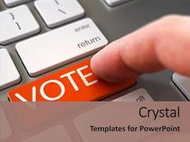5000 vote powerpoint templates w vote themed backgrounds