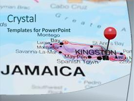100 jamaica kingston powerpoint templates w jamaica kingston beautiful slides featuring kingston pinned on a map backdrop and a sky blue colored foreground toneelgroepblik Images