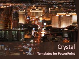 5000 las vegas powerpoint templates w las vegas themed backgrounds cool new presentation theme with las vegas skyline looking down backdrop and a wine colored foreground toneelgroepblik Gallery