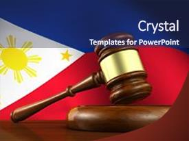 Philippine constitution powerpoint templates w philippine ppt theme having law and justice of philippines background and a navy blue colored foreground toneelgroepblik Images