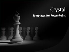 Theme enhanced with pawns - leader concept success concept business background and a black colored foreground.