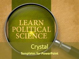 Top politics powerpoint templates backgrounds slides and ppt themes slide deck consisting of learn political science concept background and a tawny brown colored foreground toneelgroepblik