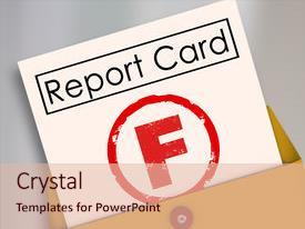 5000 school report powerpoint templates w school report themed amazing slide set having f letter f grade report card backdrop and a lemonade colored toneelgroepblik Images